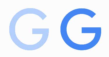 google new logo G comparison - ¿Cuál es la nueva fuente del logo de Google?
