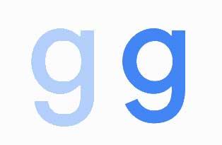 google new logo g comparison 05 - ¿Cuál es la nueva fuente del logo de Google?