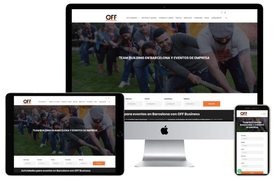 diseno web responsive - Diseño de páginas web responsive, si no eres responsive no existes