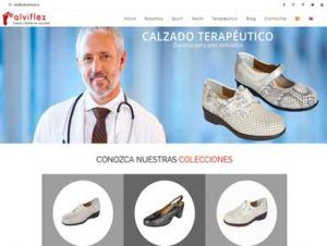 Diseño web para marcas de calzado