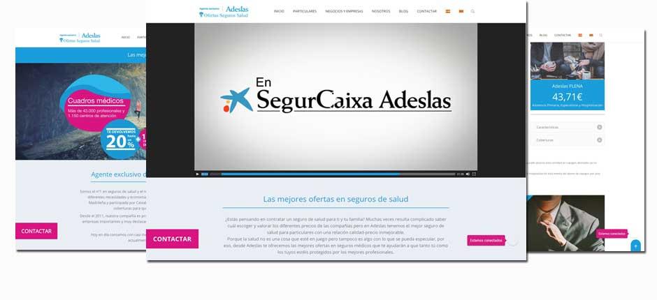 Diseño web para agentes y agencias de seguros