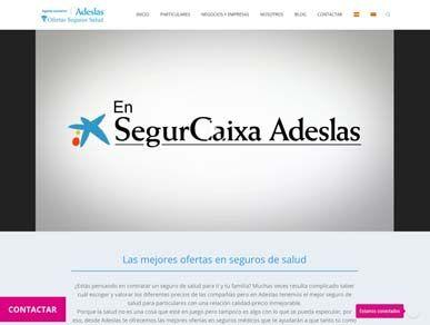 Diseño web para agencias de seguros