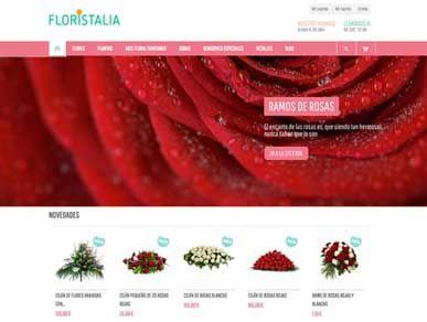 Diseño web de e-commerce para floristerías online