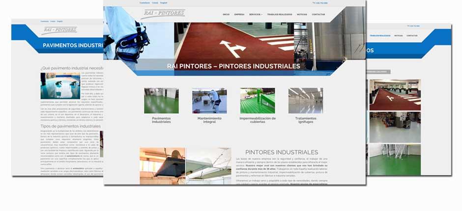 Diseño de páginas web para empresas de pintores