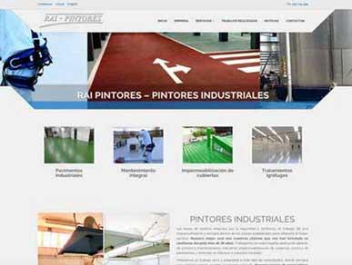 Diseño de páginas web para pintores