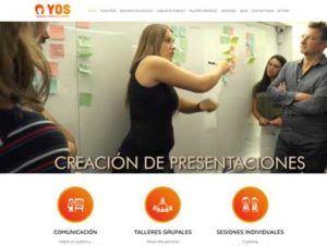 Diseño de páginas web para cursos online y presenciales